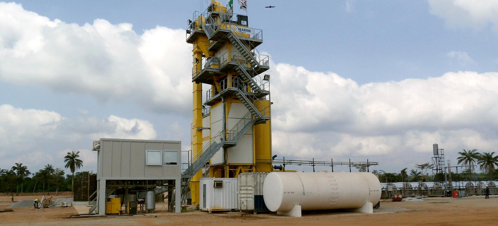 Asphalt plant Nigeria